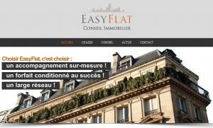 Copie d'écran du diaporama d'accueil d'EasyFlat.fr